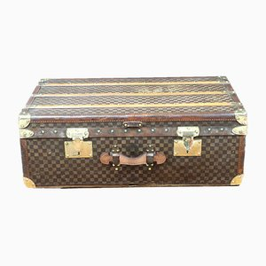 Antique French Travel Trunk from Moynat, 1910
