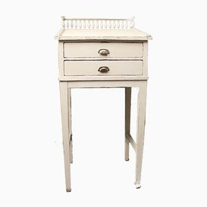 Antique Grey Writing Desk, 1840s