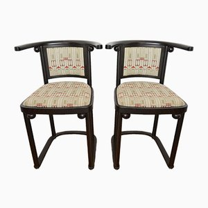 Chairs by Josef Hoffmann for Wittmann, Set of 2
