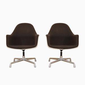 Poltrone EC175-8 vintage a schienale alto di Charles & Ray Eames per Vitra, set di 2