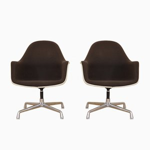 Vintage EC175-8 High Back Armchairs by Charles & Ray Eames for Vitra, Set of 2