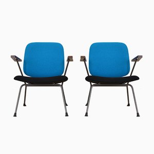 Mid-Century Armchairs by Willem Hendrik Gispen for Kembo, Set of 2