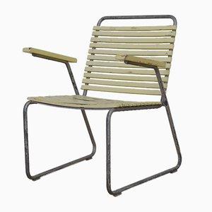 Chaise de Jardin Mid-Century