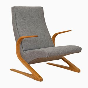 Cantilever Ash Armchair by Huldreich Altorfer for Aermo