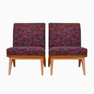 Fauteuils Lounge Vintage Modèle 22e par Jens Risom pour Knoll, Set de 2