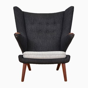 Vintage Papa Bear Chair by Hans J. Wegner for AP Stoelen
