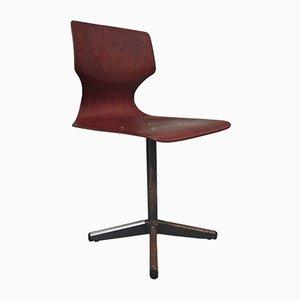 Deutscher Klassenzimmer Stuhl von Pagholz Flötotto, 1960er