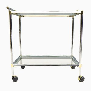 Hollywood Regency Serving Cart