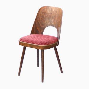 Tschechischer Stuhl aus Schichtholz von TON, 1960er