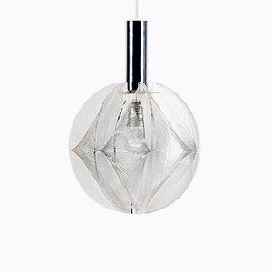 Lámpara colgante Swag de metacrilato de Paul Secon para Sompex, años 60