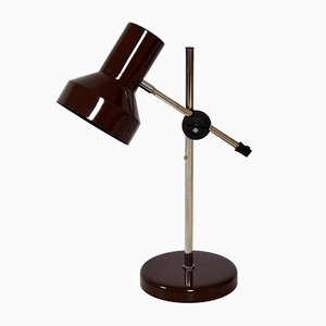 Vintage Swedish Maroon Desk Lamp from Belid, 1970s