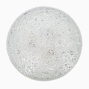 Applique o lampada da soffitto Mid-Century in vetro di Troughton & Young per Staff. anni '60