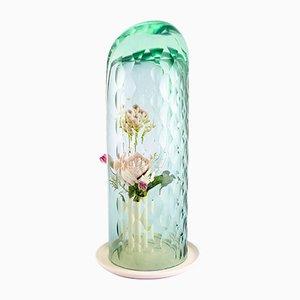Hohe Grüne Op Vase von Bilge Nur Saltik