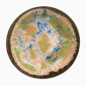Piatto di ceramica di Sandro Cherchi per Ceramiche S. Giorgio, 1957