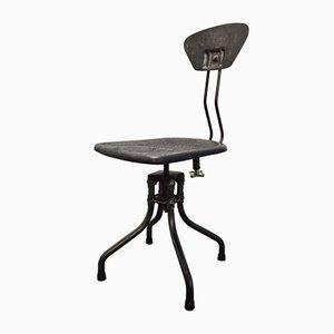 Industrieller Vintage Stuhl von Henri Libier für Flambo