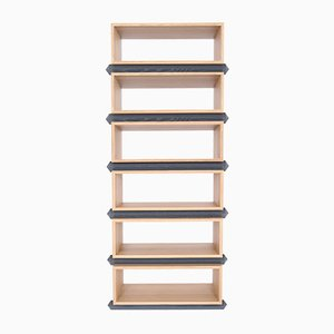 Stack Storage Six-Tier Wood Open Shelves from Debra Folz Design