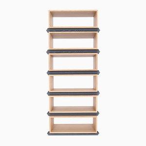Stapelbare Sechsteilige Holzfächer von Debra Folz Design