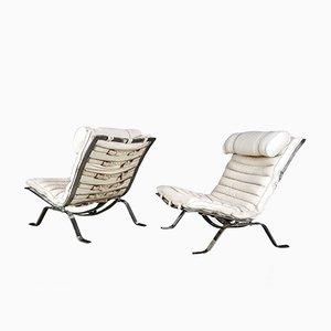 Chaises de Salon Ari d'Anne Norell, Suède, 1970s, Set de 2