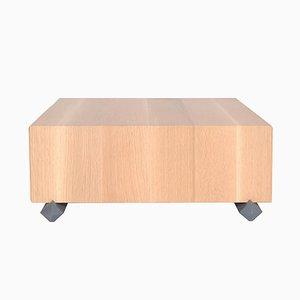 Holz Couchtisch mit Schubladen von Debra Folz Design