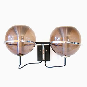 Vintage Globe Wall Lamp by Frank Ligtelijn for Raak, 1970s