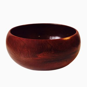 Mid-Century Large Danish Teak Bowl from Kay Bojesen, 1950s