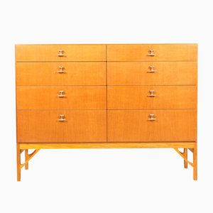 Danish Oak Chest of Drawers by Børge Mogensen for FDB, 1950s