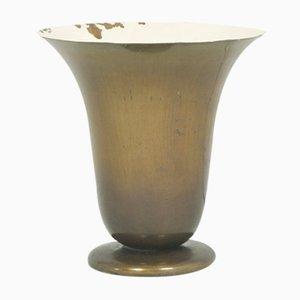 Lámpara de mesa italiana racionalista, años 30