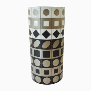 Porcelain Vase by Victor Vasarely for Rosenthal, 1970s