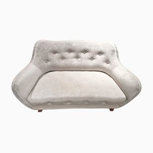 Button Tufted Sofa from Levy Carlssons Möbelafärr, 1940s
