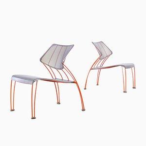 PS Hasslo Stühle von Monika Mulder für Ikea, 1990er, 2er Set