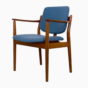 Vintage Danish Teak Armchair by Helge Sibast for Sibast