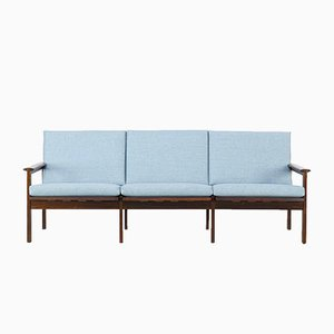 Rosewood Three-Seater Sofa by Illum Wikkelsø for Niels Eilersen, 1960s