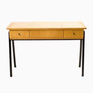 Niederländischer Mid-Century Schreibtisch aus Birke
