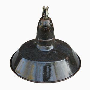Vintage Off-Black Industrial Lamp