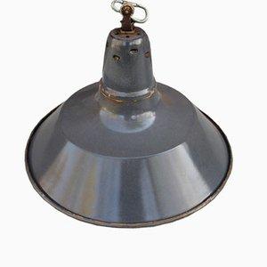 Lámpara colgante industrial francesa vintage