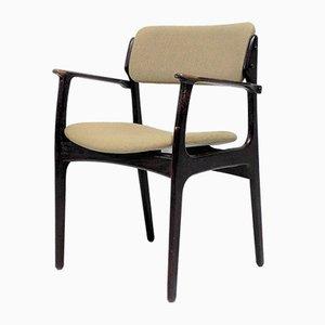 Dänischer Vintage Stuhl von Erik Buck für Odense Maskinsnedkeri