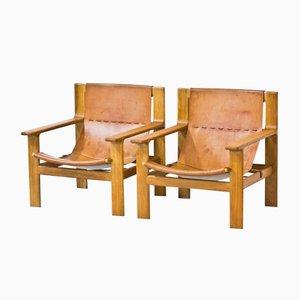 Easy Chairs by Bertil Fridhagen for Bodafors, 1960, Set of 2