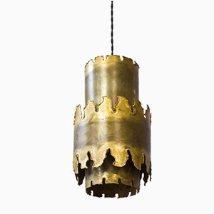 Lampe à Suspension Mid-Century par Svend Aage Holm Sørensen pour Holm Sørensen & Co