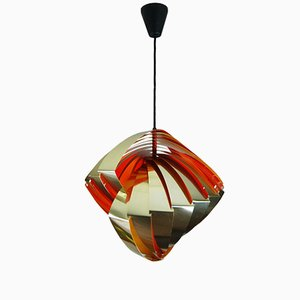 Danish Konkylie Pendant by Louis Weisdorf for Lyfa, 1960s