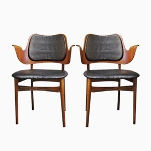 Armchairs by Arne Hovmand Olsen, 1960s, Set of 2