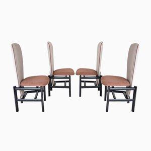 Sedie da pranzo Mid-Century, Paesi Bassi, set di 4