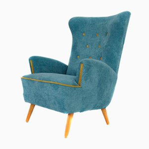 Austrian Wing Chair, 1950s