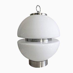 Italian Glass Table Lamp, 1970s