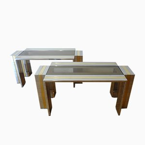 Tables Basses par Romeo Rega, 1970s, Set de 2
