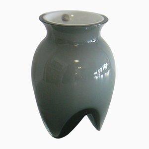 Backenzahn Opalglas Vase von Lin Utzon für Rosendahl, 1990er