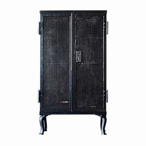 Industrielles Deutsches Vintage Highboard