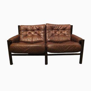Mid-Century Zwei-Sitzer Safari Sofa von Torbjørn Afdal für Bruksbo