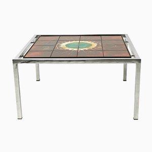 Table Basse Vintage Carrée par Jacqueline Belarti