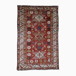 Antiker Handgemachter Kaukasischer Shirvan Teppich, 1910er