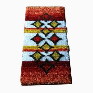 Alfombra Kilim de lana de Junghans Wolle, años 80